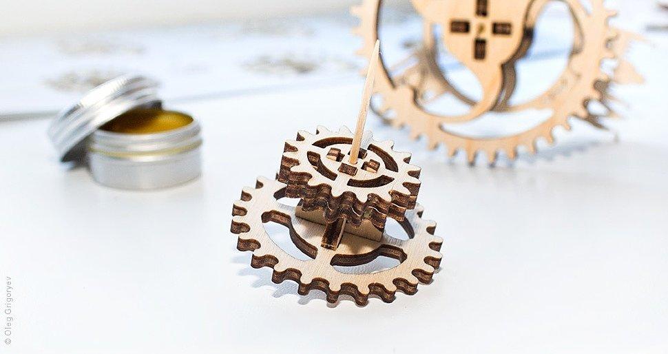 Как собирать механические 3D пазлы UGears